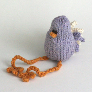 Itty Bitty Violet Birdie by Yarn Miracle