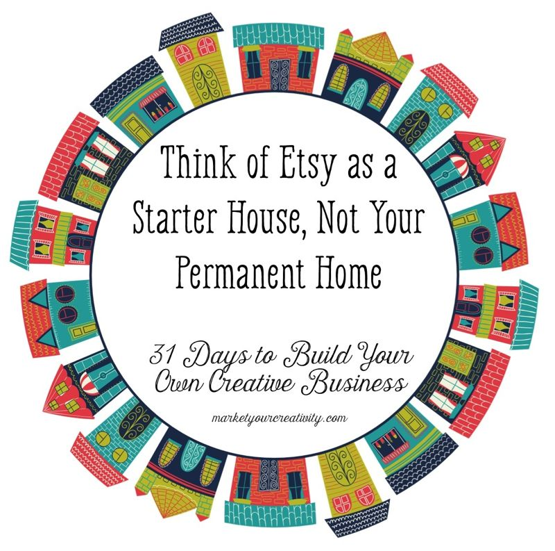 Etsy is a starter house | Marketing Creativity