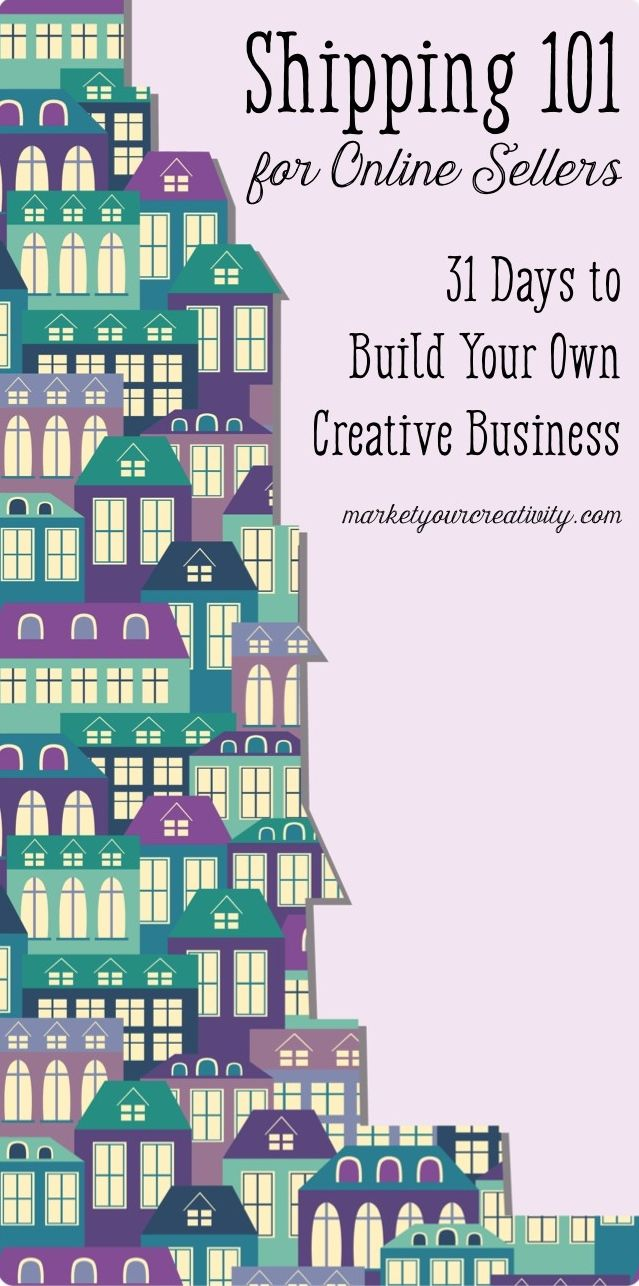 Shipping 101 for Creative Business | Marketing Creativity by Lisa Jacobs
