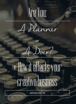Are you a planner or a doer?