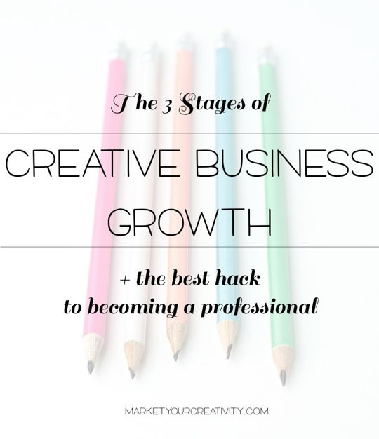3 Stages of Creative Busines Growth