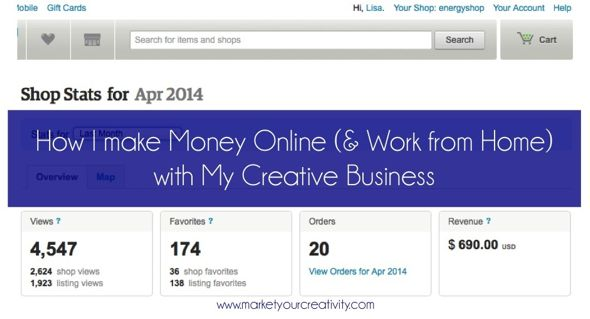 April Earnings | How I Make Money Online with my Etsy shop and blog