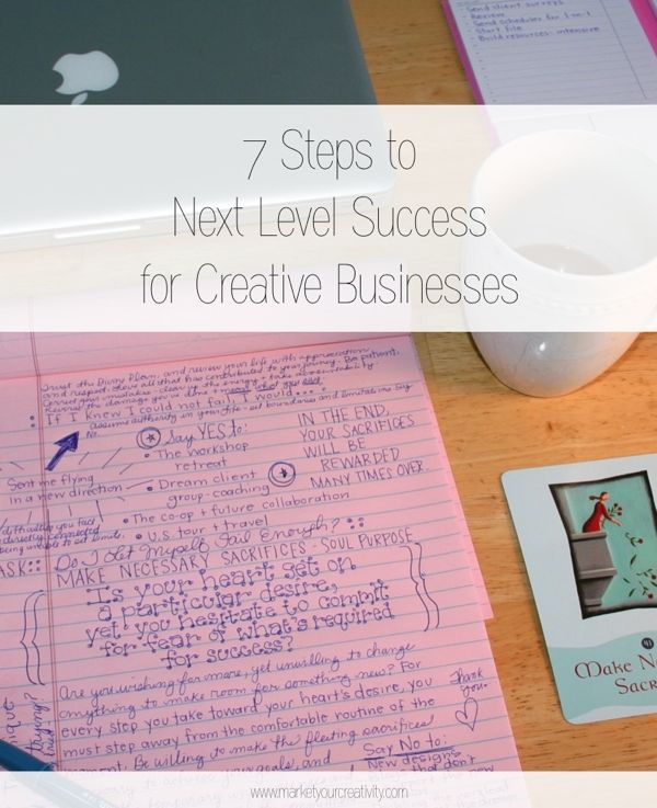 Next Level Success for Creative Businesses
