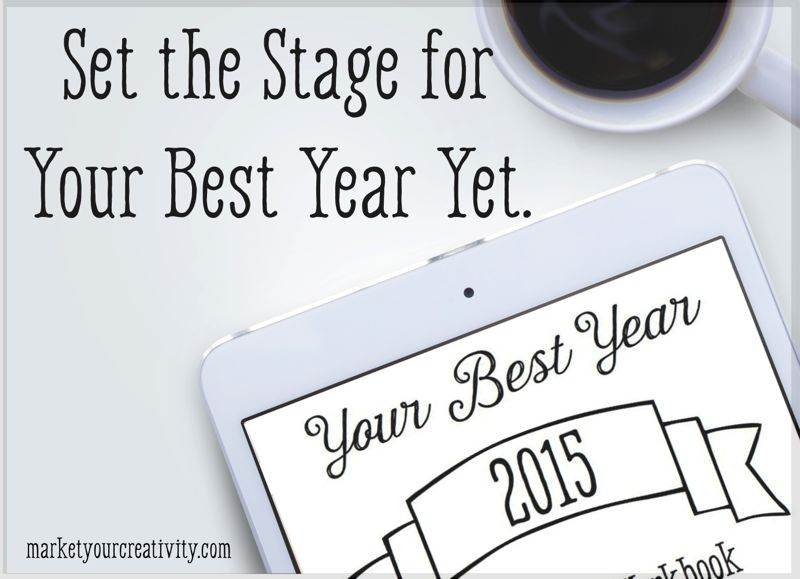 Set the Stage for Your Best Year- 2015 Planner