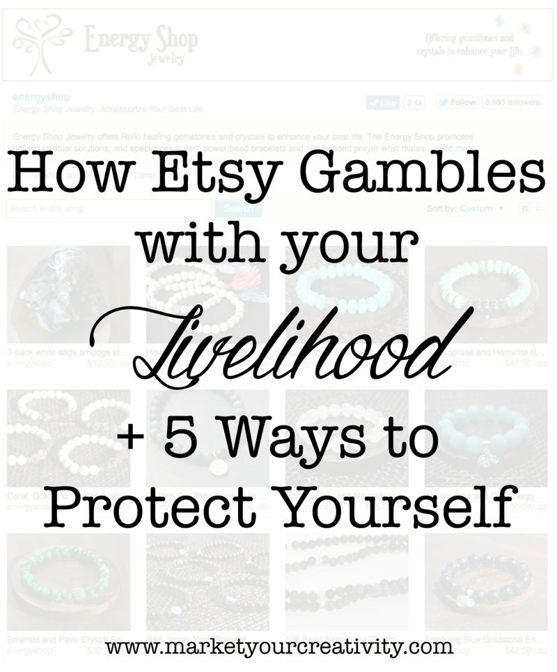 How Etsy Gambles | marketyourcreativity.com