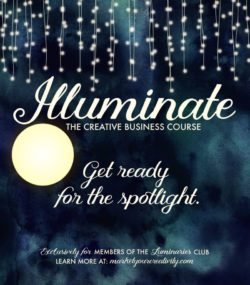 Illuminate the Creative Business Course: Get ready for the spotlight