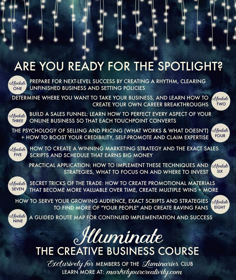 Illuminate: The Creative Business Course