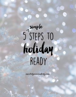 5 steps to holiday ready for creative business
