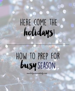 Time to get your creative business holiday prep on!