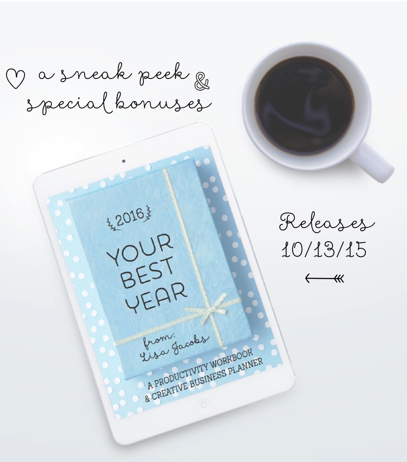 Your Best Year 2016: Creative Business Planner