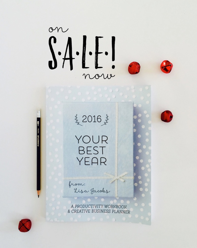 Grab Your Best Year 2016! Best planner for creative business owners