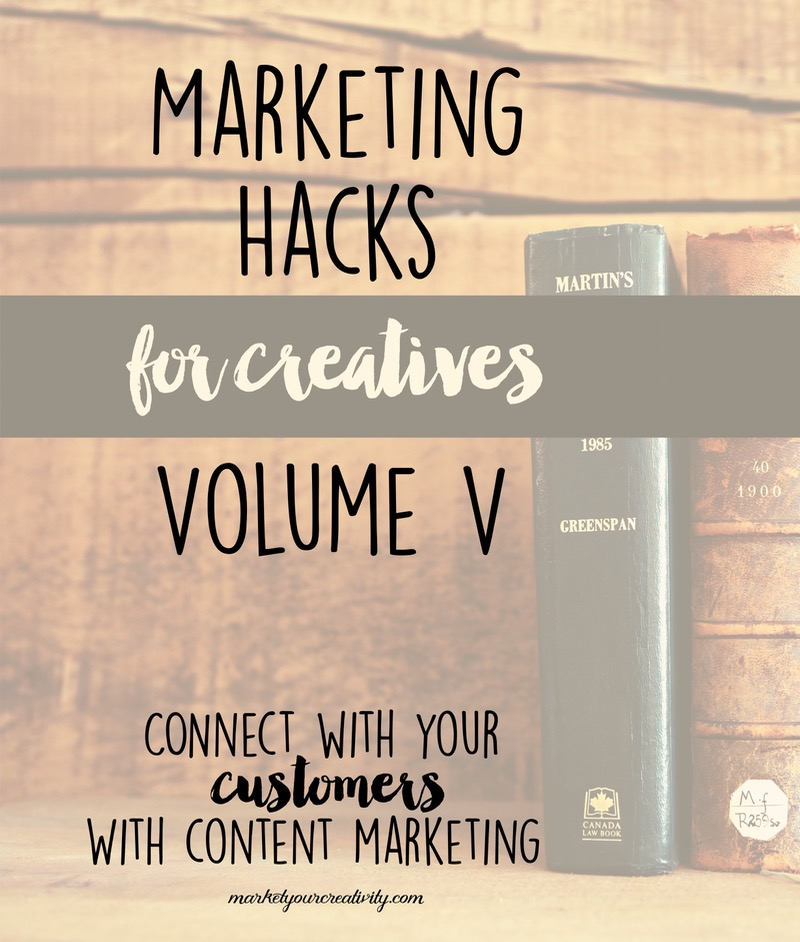 Better connect with your customers with this marketing hack for creatives