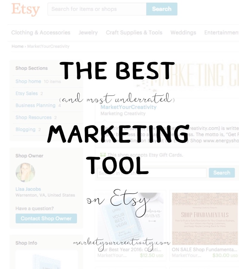 Best Marketing Tool on Etsy