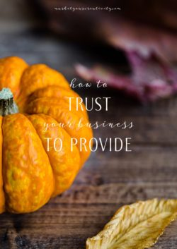 How to trust your business to provide