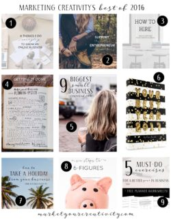 Marketing Creativity by Lisa Jacobs: Best of 2016