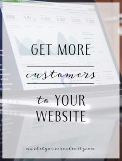 get more customers to your website