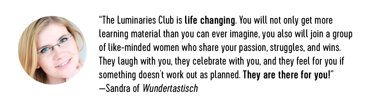 Member reviews Luminaries Club