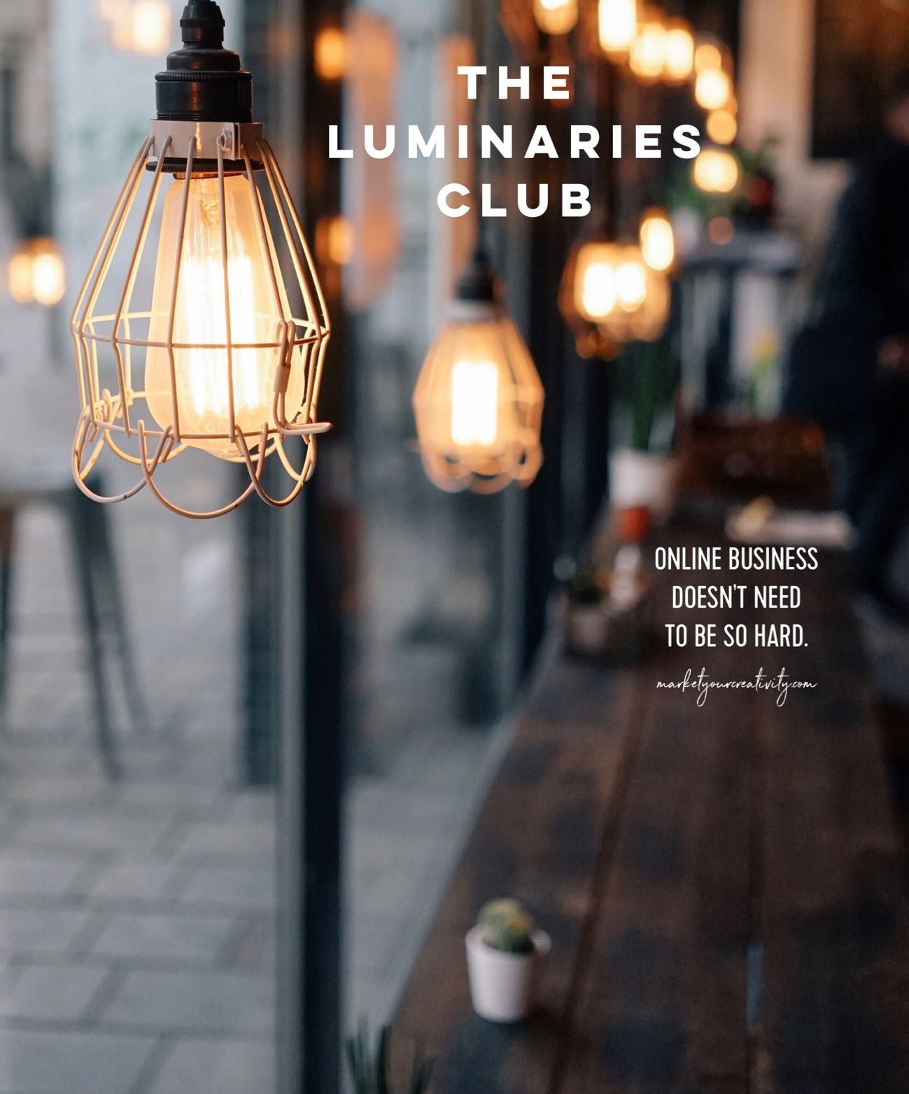The Luminaries Club by Lisa Jacobs