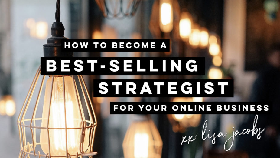 Best selling business strategist