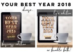 Your Best Year 2018 business and life editions by Lisa Jacobs (1)