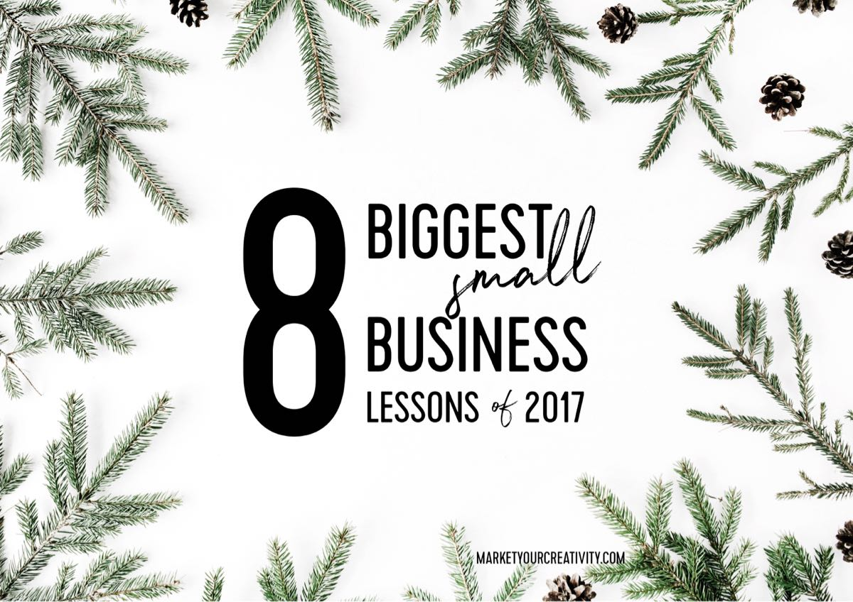 Biggest small business lessons of 2017