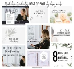 Marketing Creativity's best of 2017 by Lisa Jacobs