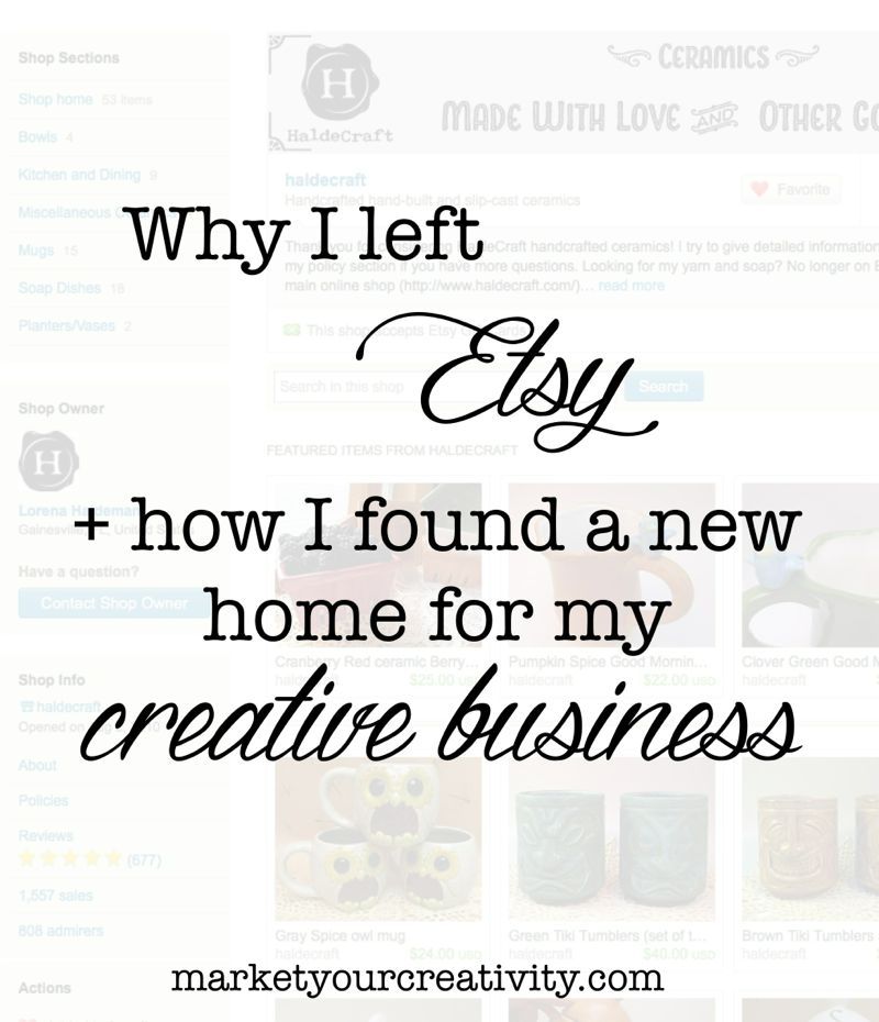 Etsy alternatives   marketyourcreativity.com